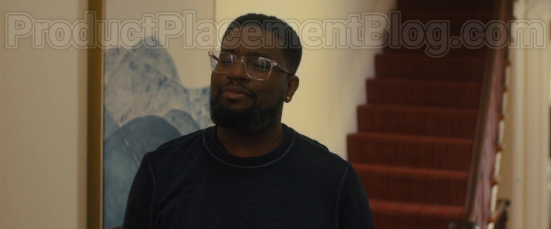 Armani Exchange Eyeglasses of Lil Rel Howery as Kyle in The Photograph 2020 Movie (3)