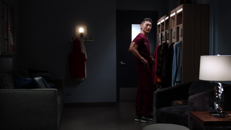 Asics Sneakers of Brian Tee as LCDR Dr. Ethan Choi in Chicago Med S05E19
