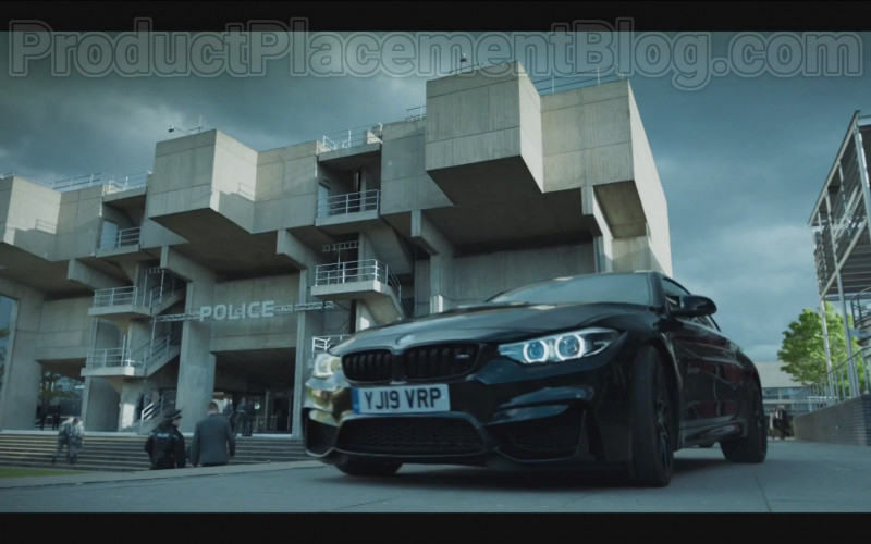 BMW M4 Black Car in Code 404 TV Show (2)