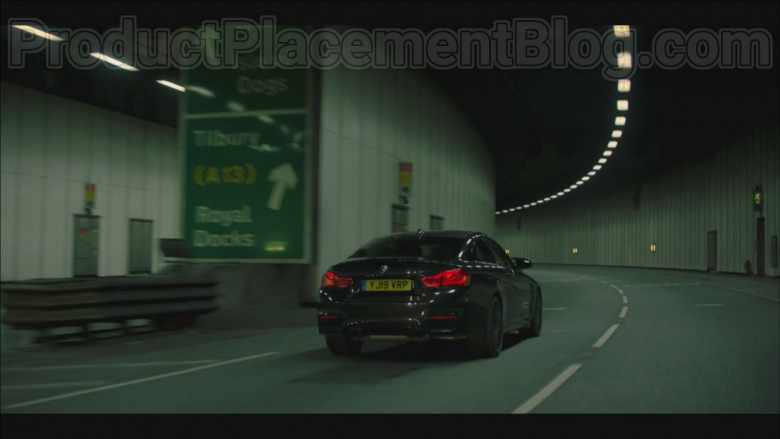 BMW M4 Car Driven by Daniel Mays in Code 404 TV Series (2)