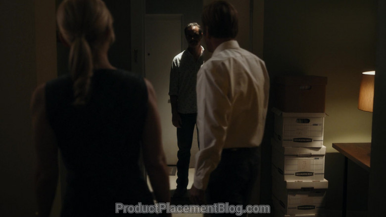 Bankers Boxes in Better Call Saul S05E09
