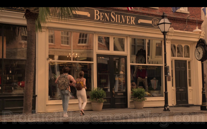 "Ben Silver Store in Outer Banks S01E04 ""Spy Games"" (1)"