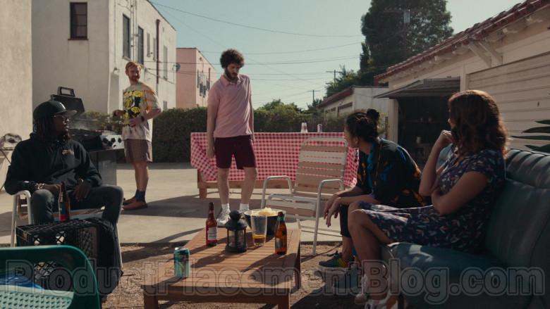 Budweiser Beer Bottle in Dave S01E08