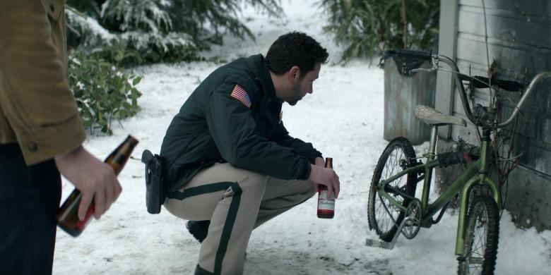 Budweiser Beer Enjoyed by Michael Weston as Frank Briggs Jr. in Home Before Dark S01E05