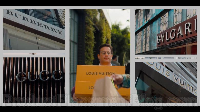 Burberry, Louis Vuitton, Bulgari, Gucci in #blackAF S01E04