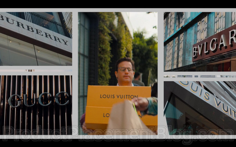 Burberry, Louis Vuitton, Bulgari, Gucci in #blackAF S01E04