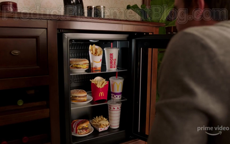 Burger Kings and McDonald's Fast Food in Upload Season 1 (2020)