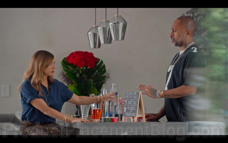 CÎROC Vodka Bottle in #blackAF S01E03 (1)