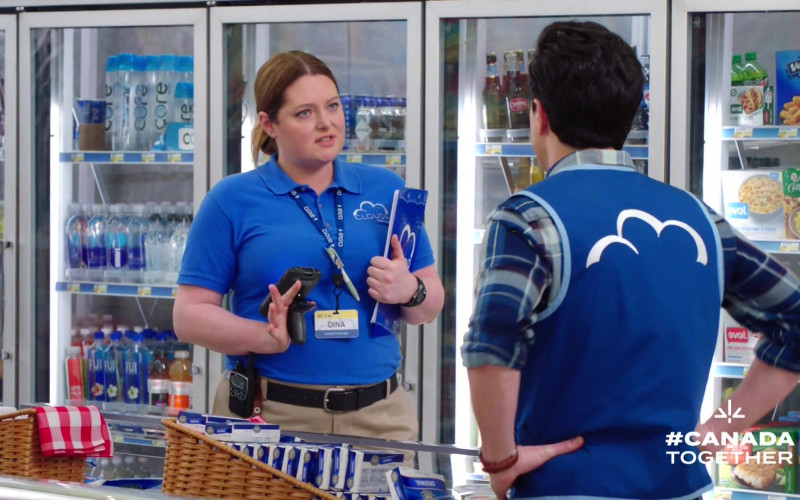 CORE and Fiji Water in Superstore S05E21 California Part 1 (2020)