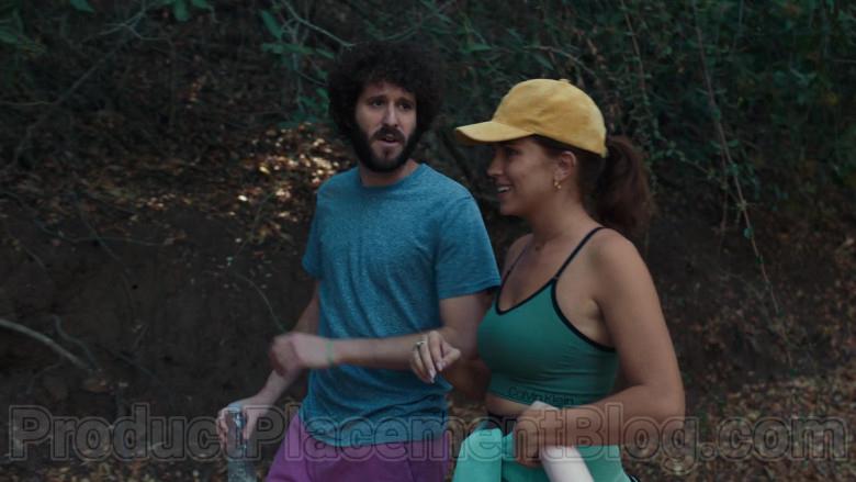 Calvin Klein Green Sports Bra of Taylor Misiak as Ally in Dave S01E09 (1)