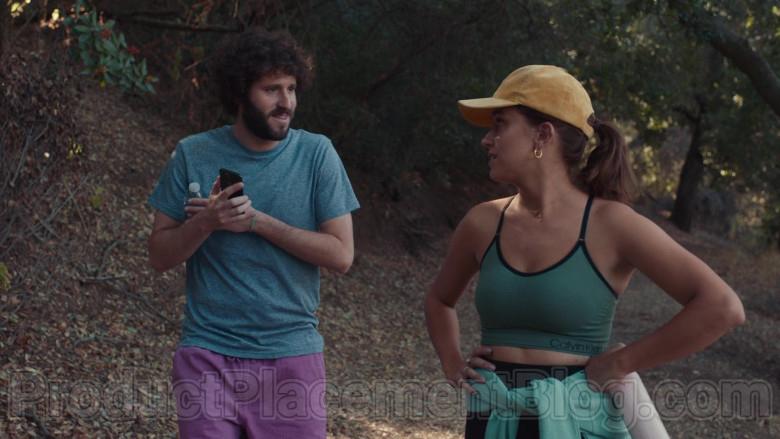Calvin Klein Green Sports Bra of Taylor Misiak as Ally in Dave S01E09 (2)