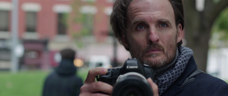 Canon Camera of Greg Bryk as Marquez in My Spy (2)