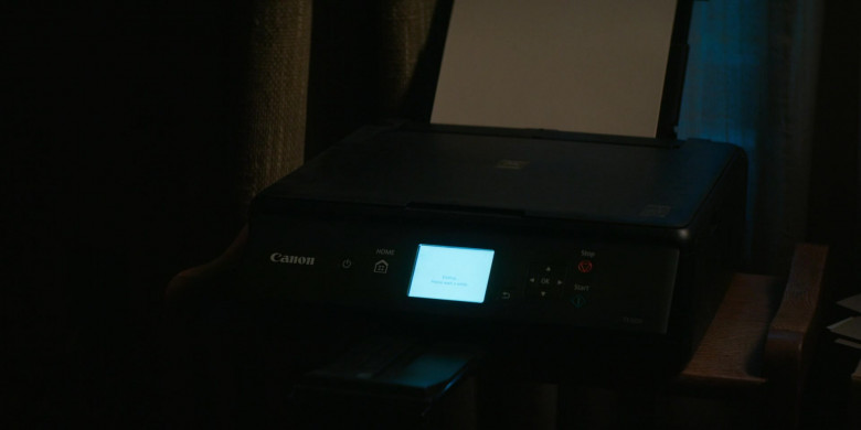 Canon Printer in Home Before Dark S01E01 (1)