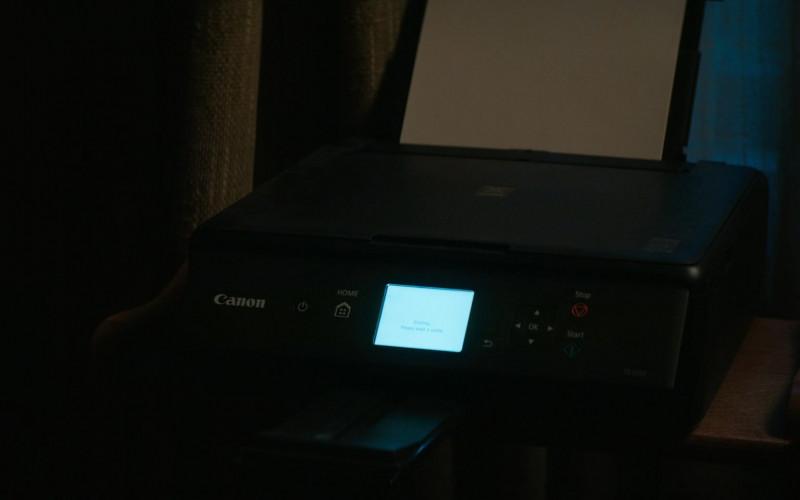 Canon Printer in Home Before Dark S01E01 (1)