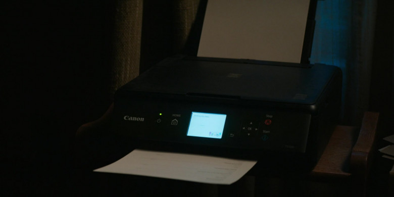 Canon Printer in Home Before Dark S01E01 (2)