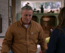 Carhartt Brown Shirt Worn by Matt LeBlanc as Adam Burns in Man with a Plan S04E01 (2)