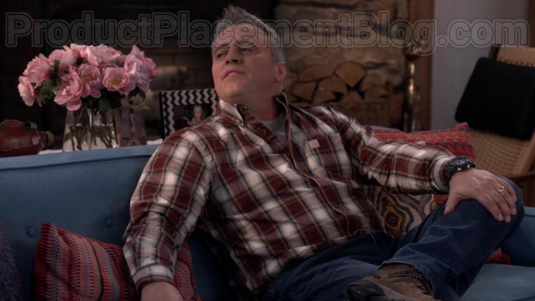 Carhartt Flannel Plaid Shirt of Matt LeBlanc in Man with a Plan S04E04 (3)