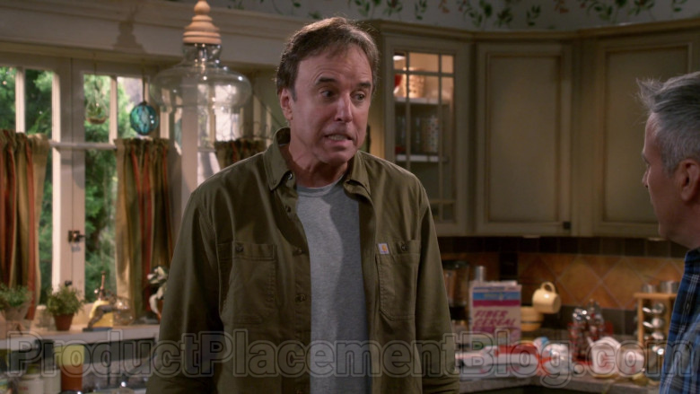 Carhartt Green Long Sleeve Shirt of Kevin Nealon in Man with a Plan S04E05 (2)
