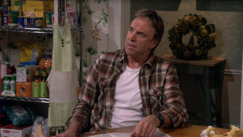 Carhartt Long Sleeve Plaid Flannel Shirt of Kevin Nealon as Don Burns in Man with a Plan S04E02 (1)