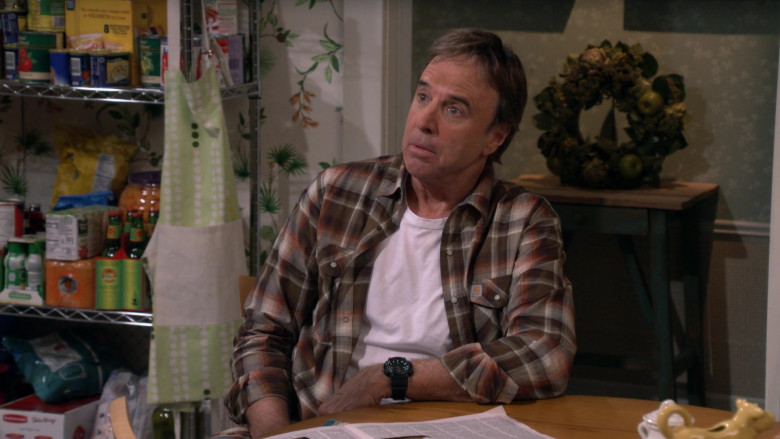 Carhartt Long Sleeve Plaid Flannel Shirt of Kevin Nealon as Don Burns in Man with a Plan S04E02 (2)