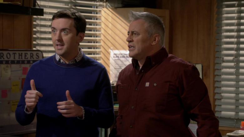 Carhartt Long Sleeve Shirt of Matt LeBlanc in Man with a Plan S04E03 (1)