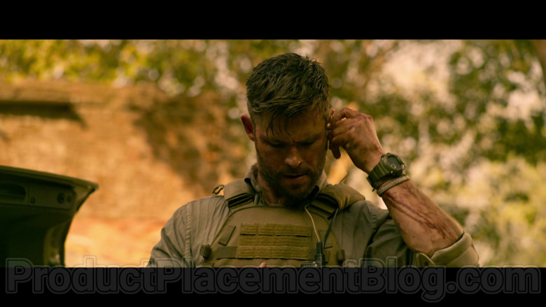 Casio G-Shock Watch of Chris Hemsworth as Tyler Rake in Extraction (1)