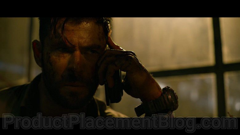 Casio G-Shock Watch of Chris Hemsworth as Tyler Rake in Extraction (2)