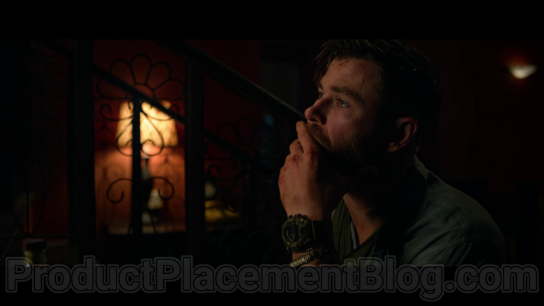 Casio G-Shock Watch of Chris Hemsworth as Tyler Rake in Extraction (4)