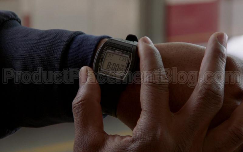 "Casio W-201 Men's Digital Watch in Chicago Fire S08E20 ""51's Original Bell"" (2020)"
