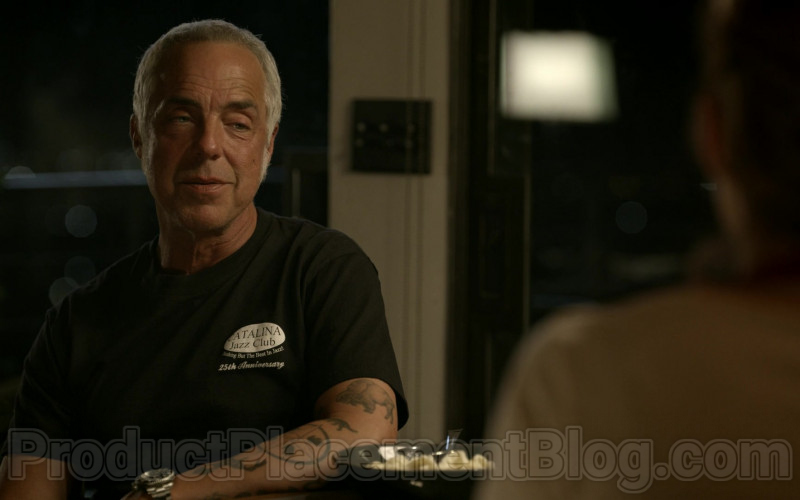 Catalina Jazz Club T-Shirt Worn by Titus Welliver in Bosch S06E08