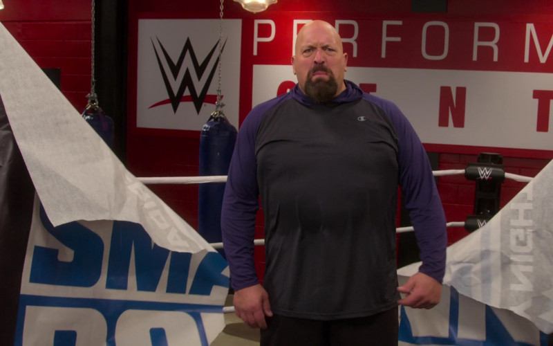 Champion Hoodie Worn by Paul Wight in The Big Show Show S01E08 (1)