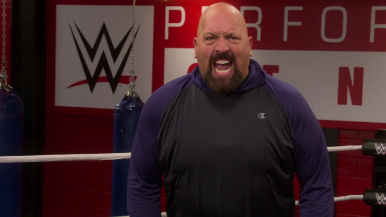 Champion Hoodie Worn by Paul Wight in The Big Show Show S01E08 (3)