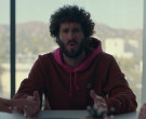 Champion Red Hoodie of Lil Dicky in Dave S01E10 Jail (2020...