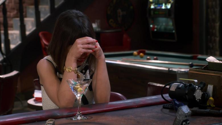 Chanel Gold Bracelet Worn by Natasha Leggero as Elizabeth in Broke S01E01