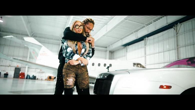 Chanel Leggings Worn by Model in Tycoon by Future (1)