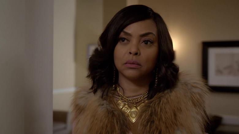 Chanel Necklace of Taraji P. Henson as Cookie in Empire S06E16 (2)