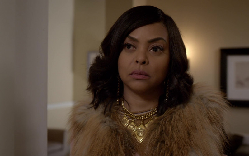 Chanel Necklace of Taraji P. Henson as Cookie in Empire S06E16 (2)