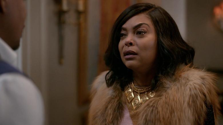 Chanel Necklace of Taraji P. Henson as Cookie in Empire S06E16 (3)