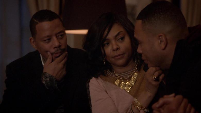 Chanel Necklace of Taraji P. Henson as Cookie in Empire S06E16 (4)