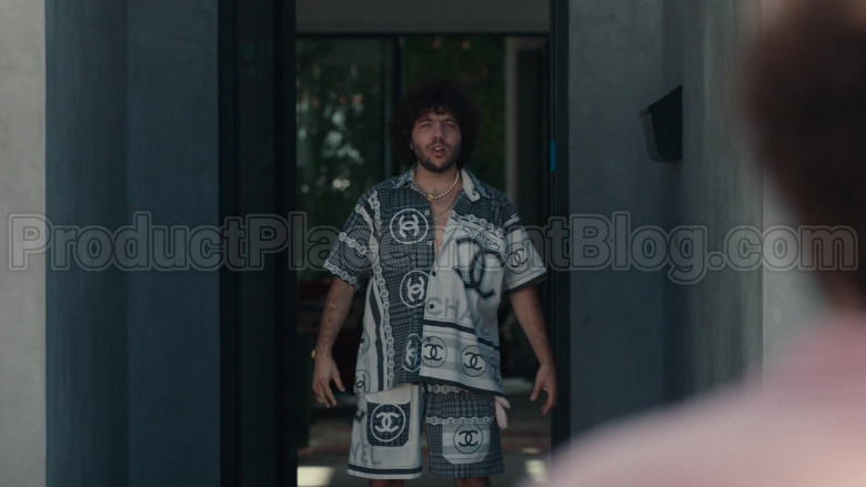 Chanel Outfit (Shirt and Shorts) For Men in Dave S01E08 (1)