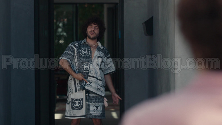 Chanel Outfit (Shirt and Shorts) For Men in Dave S01E08 (2)