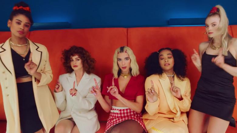 Chanel Skirt Worn by Dua Lipa in Break My Heart 2020 (1)