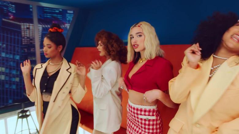 Chanel Skirt Worn by Dua Lipa in Break My Heart 2020 (2)