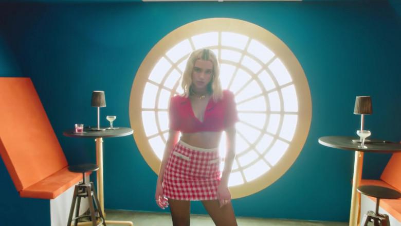 Chanel Skirt Worn by Dua Lipa in Break My Heart 2020 (4)