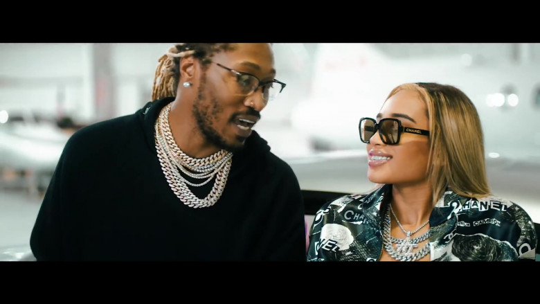 Chanel Sunglasses For Women in Tycoon by Future (2)