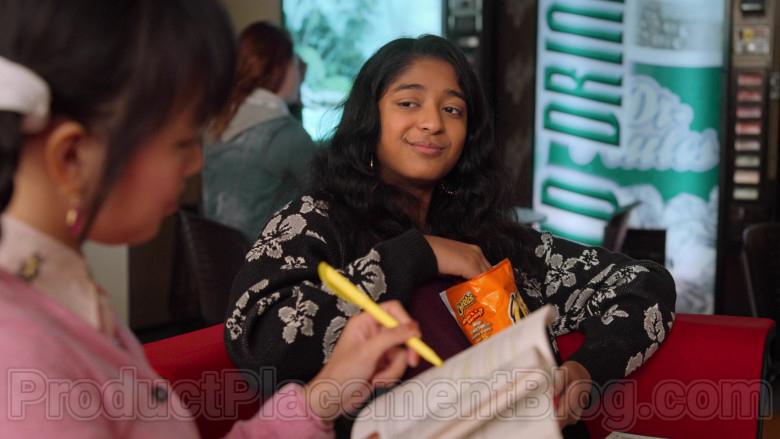 Cheetos Crunchy Cheese Flavored Snack Enjoyed by Maitreyi Ramakrishnan as Devi Vishwakumar in Never Have I Ever (1