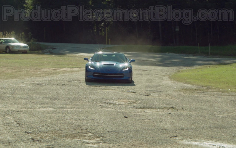 Chevrolet Corvette Blue Car in Arkansas (1)