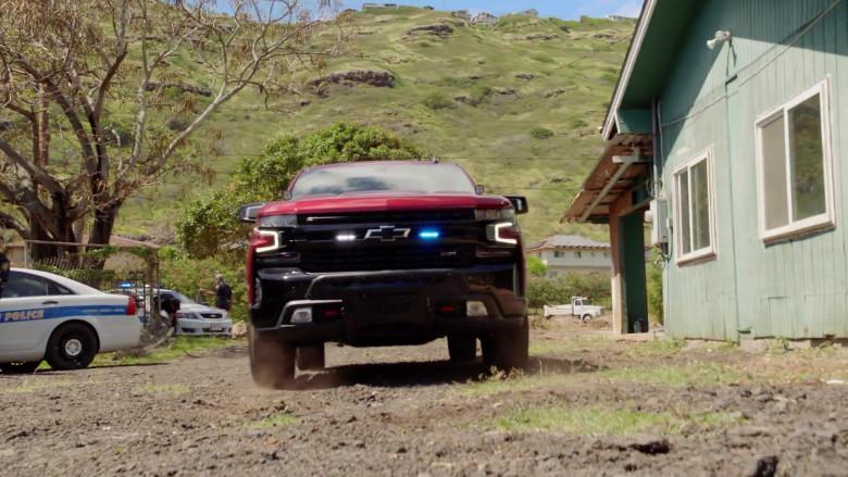 Chevrolet Silverado LT Red Pickup Truck Driven by Alex O'Loughlin in Hawaii Five-0 S10E22 (12)