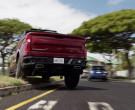 Chevrolet Silverado LT Red Pickup Truck Driven by Alex O'Loughlin in Hawaii Five-0 S10E22 (2)