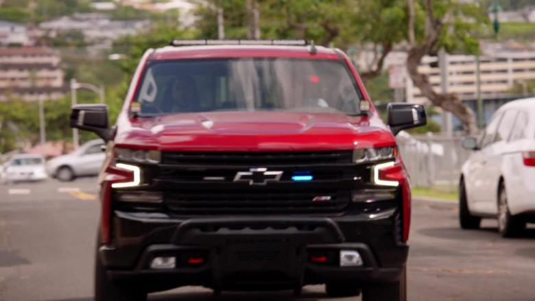 Chevrolet Silverado LT Red Pickup Truck Driven by Alex O'Loughlin in Hawaii Five-0 S10E22 (3)